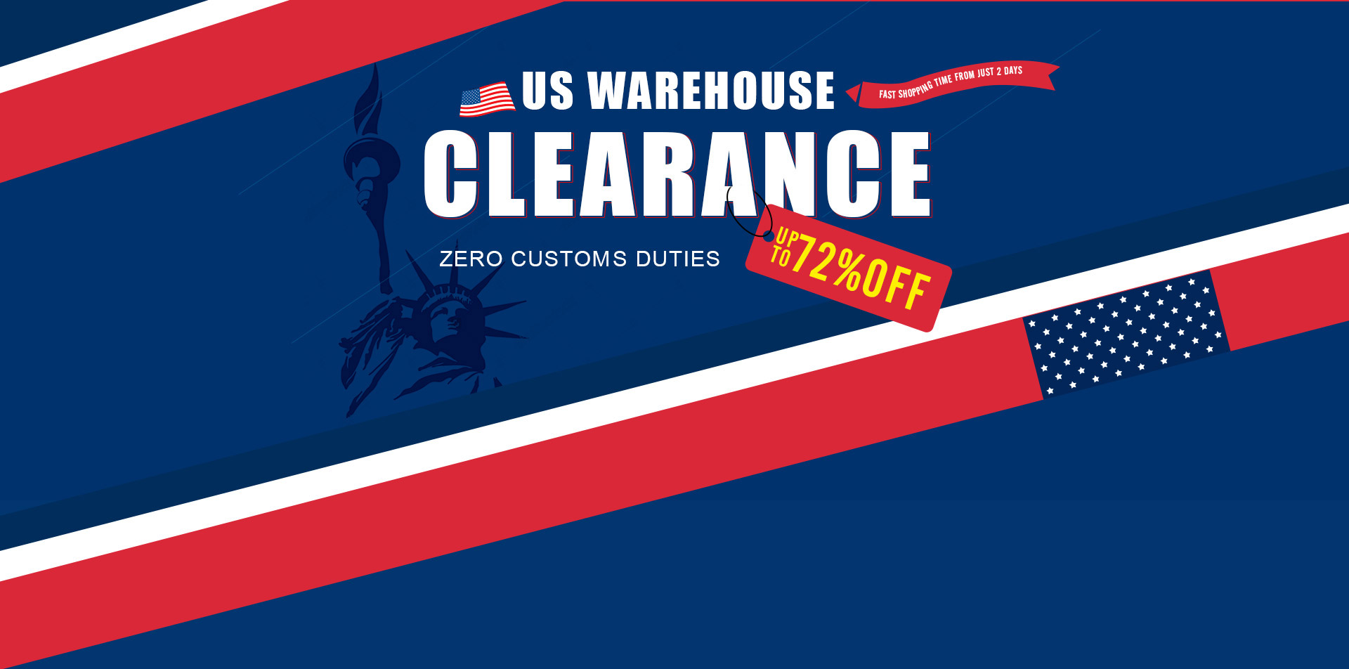 US Warehouse Clearance with up to 72% from Gearbest